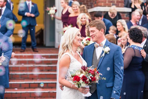 Alan + Taylor | Fall Wedding