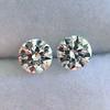 2.27ctw Transitional Cut Diamond Pair, GIA H VS2 0