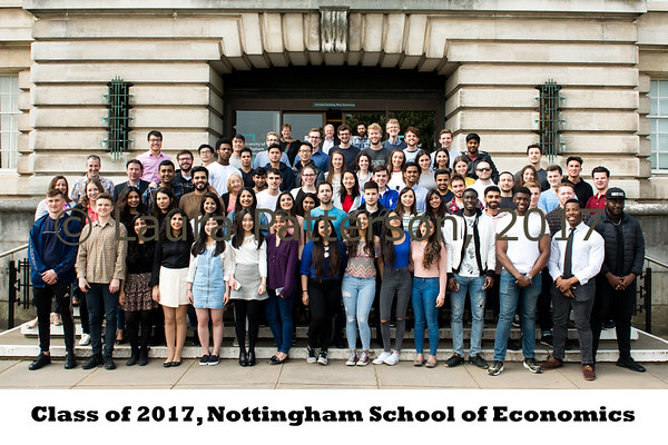 Class of 2017, Nottingham School of Economics