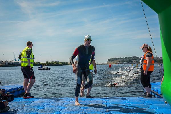 British ELite Sprint Championships - Men Swim Exit
