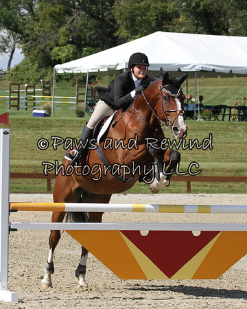 Grand Prix Ring:  High Child/Adult Jumper (Saturday)