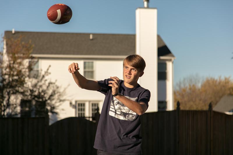 Quarterback Brennan