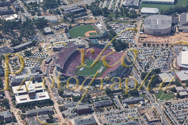 Auburn - Utah st aerials 9-3-11