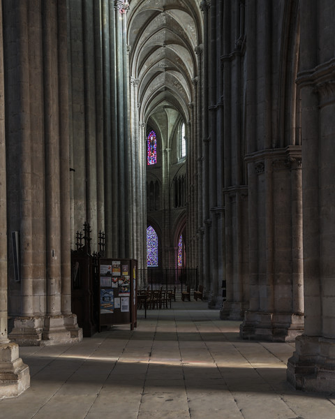 Bourges, Saint Stephen Cathedral Ambulatory  Inner Aisle