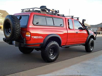 CBI rear bumper
