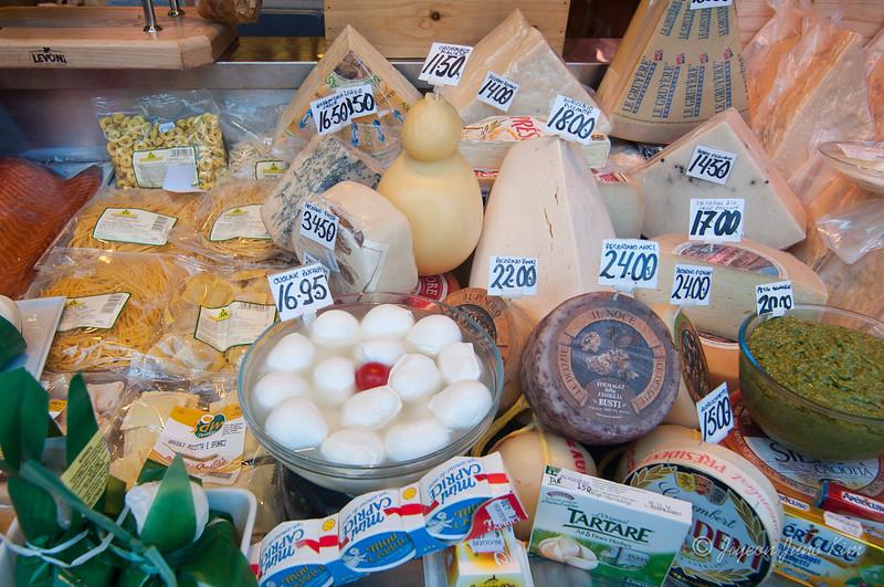 Fresh made cheese