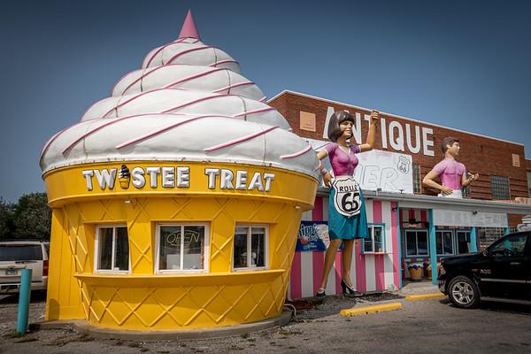Route 66 Twistee Treat Diner