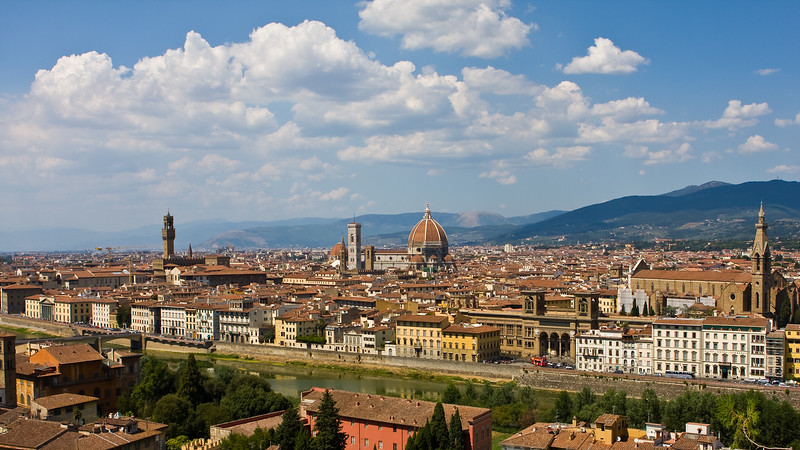The Arno and The City Center
