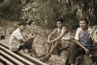 Jakarta Railway & Fishing Village (Faces)