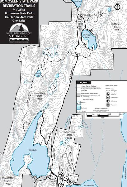 Bomoseen State Park (Trails)