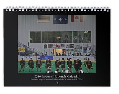 2016 Iroquois Nationals Calendar (WILC2015)