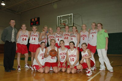 Girls 8th Grade Basketball - 2005-2006 - Team Picture