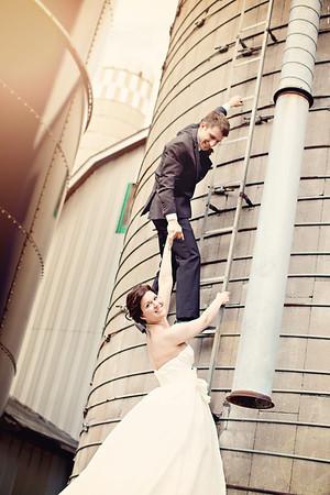 Megan & Tyler {wedding day}