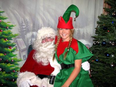Montecito Heights Santa's visit-2008! Image Gallery