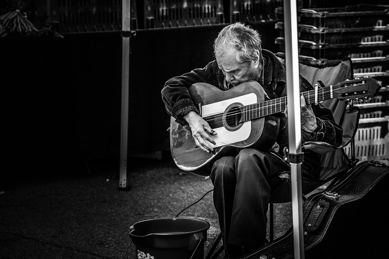 An Old Musician