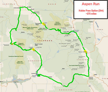 Western Mountain Ride - Route Planning