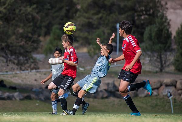 U14 B Red Bend FC Timbers