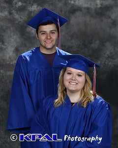 Pia and Travis Buffenbarger Class of 2015
