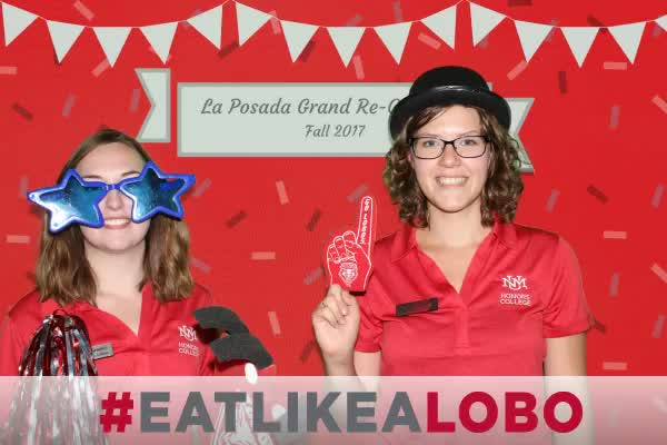UNM Grand Re-Opening of La Posada Dining Hall Block Party