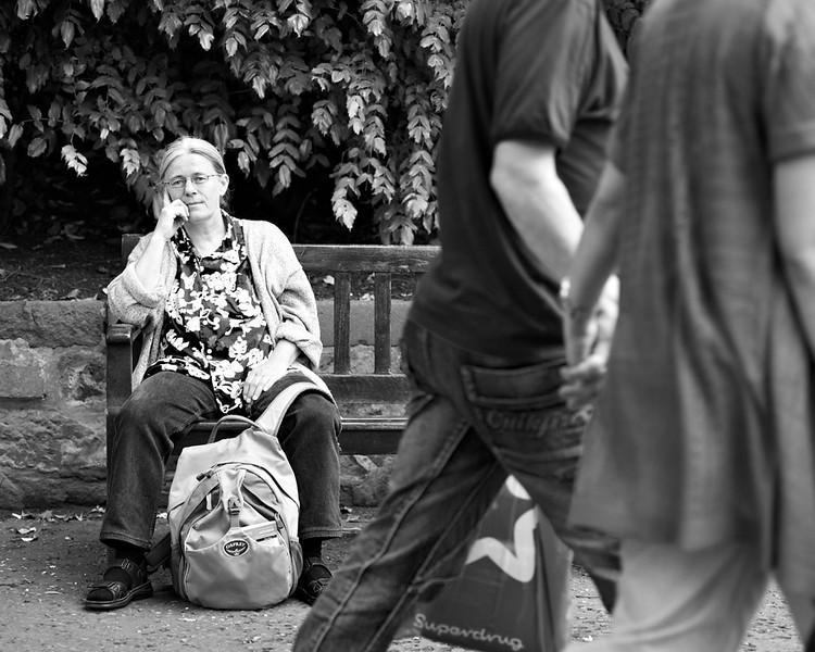 Scandavian Lady - Edinburgh - Street Portrait