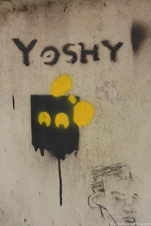 HK Graffiti & Buildings