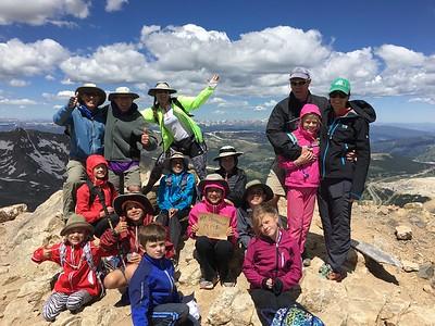 Topping Colorado's Mt Democrat (14,148') - 7/6/16