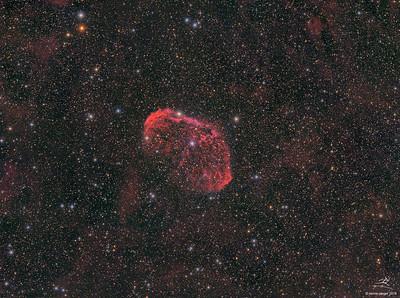NGC 6888 Sichelnebel
