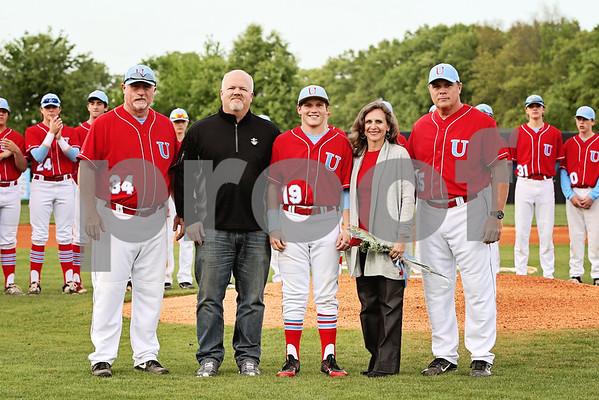 USJ Baseball Seniors 2015