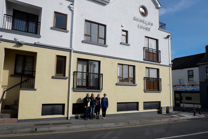 Molly's place in Galway, Donegan Court.