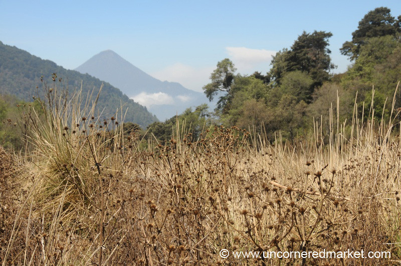 Dry Season in the Guatemalan Hills - Lake Atitlan, Guatemala