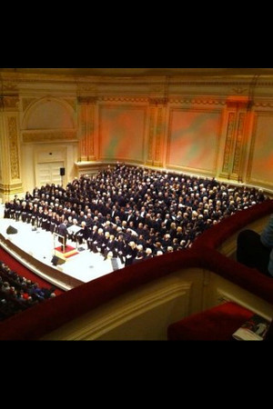 SUMC NYC Trip to Carnegie Hall