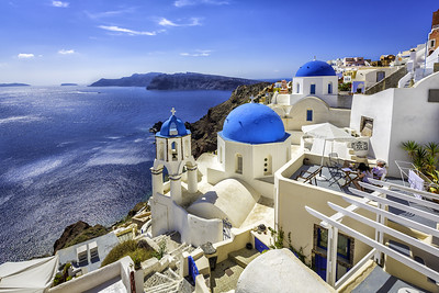 SANTORINI in GREECE (2007)