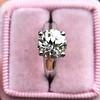 2.05ct Old European Cut Diamond Platinum Solitaire, GIA K SI1 22