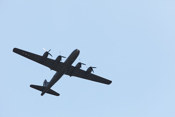 B-29 Fly Over in Utah