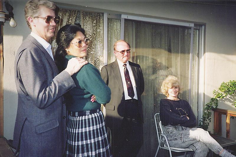 Larry & Clarita Vollenweider, Gene Smith, Mavis Butler