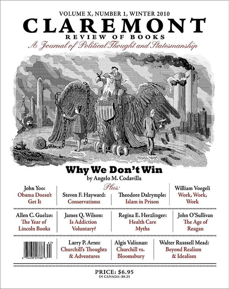 Cover of the CRB, printed in February, 2010; I made illustrations for all the articles, but some were not used.