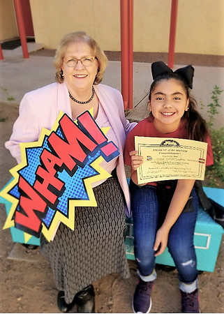 2018 student of the month