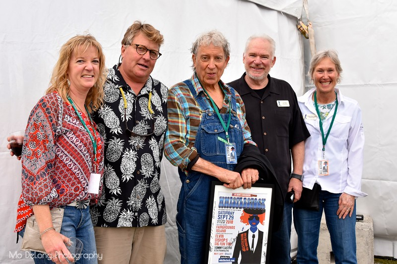 Yvonne Roberts, Peter Rubens, Elvin Bishop, Joe O'Hehir and Serena D'Arcy-Fisher
