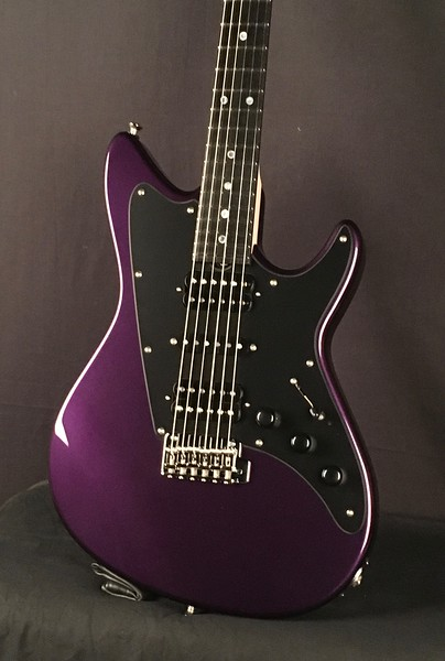 ElectraJet #3997, Metallic Purple Kandy, Grosh H/S/H Pickups