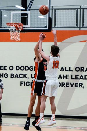 Richland Center @ Dodgeville Boys Basketball 2-9-21