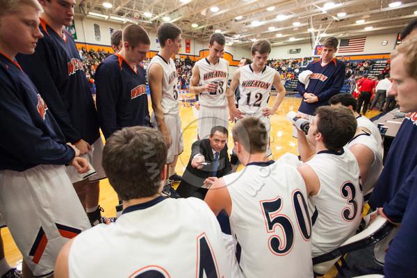 Wheaton College Men's Basketball vs Carthage