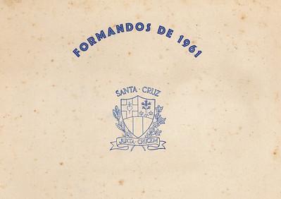 Colegio Santa Cruz 1961