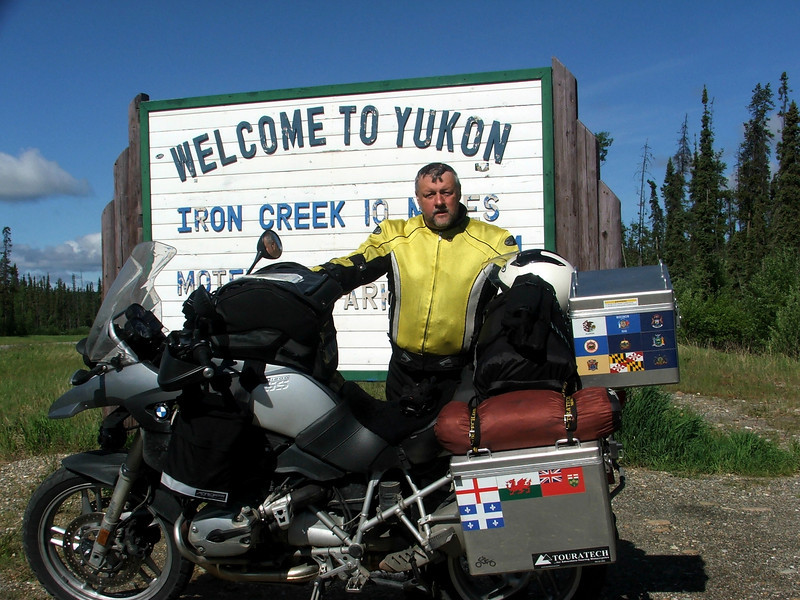 Border of the Yukon Territory
