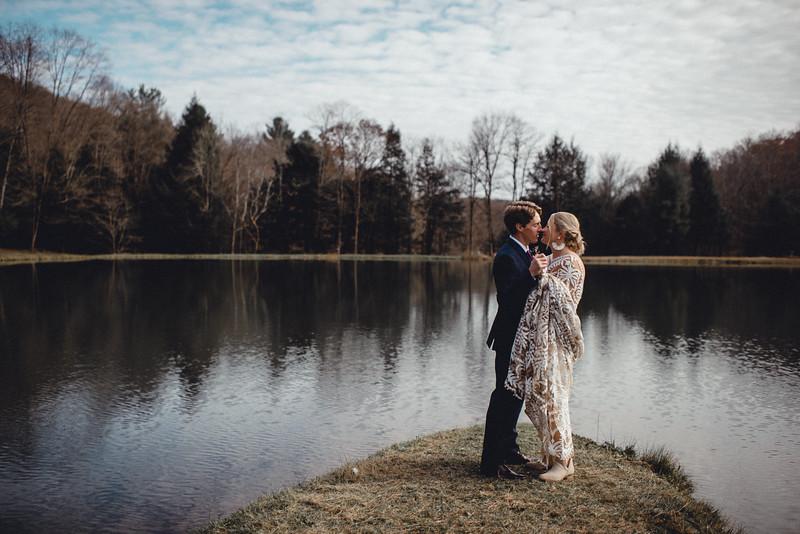 Requiem Images - Luxury Boho Winter Mountain Intimate Wedding - Seven Springs - Laurel Highlands - Blake Holly -679.jpg