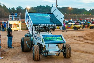 Sprint Car Racing Harris Speedway NC