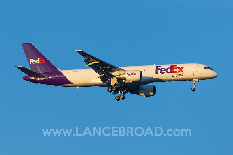 Fedex 757-200 - N799FD - MCO