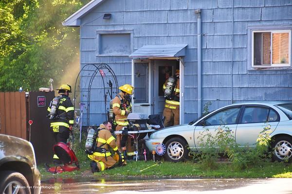 Structure Fire - 43 Flatt Road, Henrietta, NY - 6/10/21