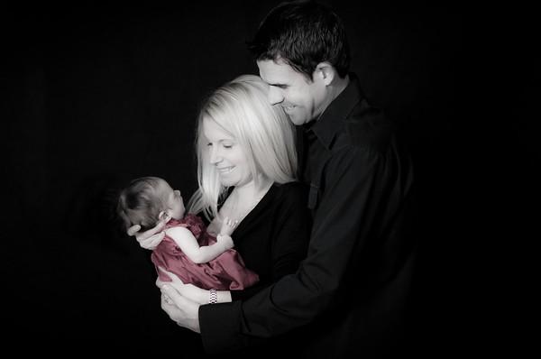 Baby Olivia and Family