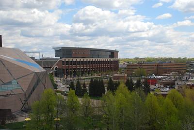 2019 05 10:  Minneapolis, Graduation Awards, TCF Bank Stadium & McNamara Alumni Center