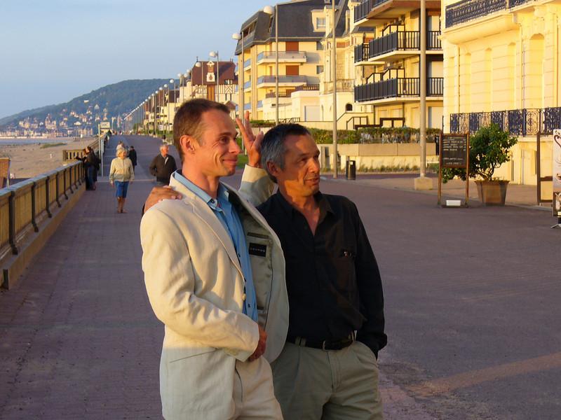 Our leaders Vincent et Pierre